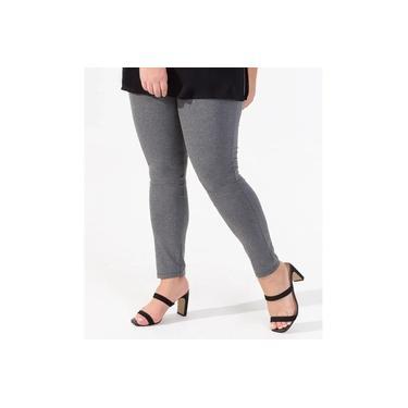 Legging Feminina Cotton Rovitex Cinza