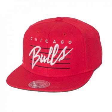 Boné Chicago Bulls Mitchell   Ness II bf1fe78828d