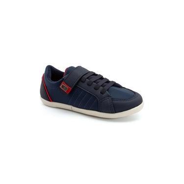 Sapato Klin flyer marinho/vermelho
