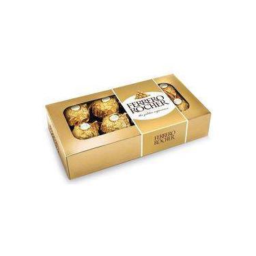 Caixa de Bombom com 8 unidades 100g - Ferrero Rocher