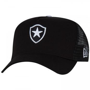Boné Aba Curva do Botafogo New Era 940 - Snapback - Trucker - Adulto New Era Unissex