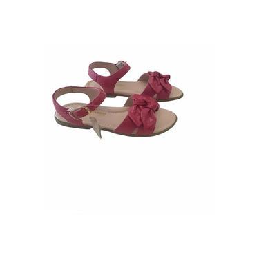 Sandália Infantil Ortopasso Flowers Verniz Pink