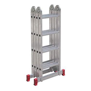 Imagem de Escada Articulada 4x4 com 16 Degraus de Alumínio, BOTAFOGO, ESC0293