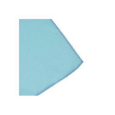 Imagem de Toalha De Mesa Retangular Em Tecido Azul Claro 2,20m