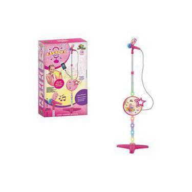Imagem de Microfone Infantil com Pedestal Liga no Celular