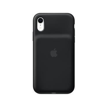 Capa Carregadora iPhone XR Apple, Silicone Preto