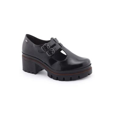 Sapato Feminino G2671 Oxford Tratorado Salto Bloco Dakota