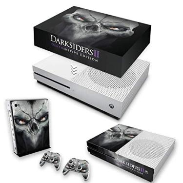 Capa Anti Poeira e Skin para Xbox One S Slim - Darksiders 2 Deathinitive Edition