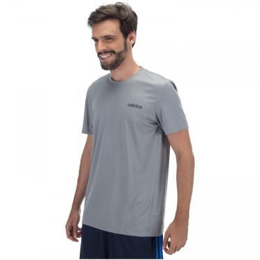 Camiseta adidas D2M AR PL - Masculina adidas Masculino