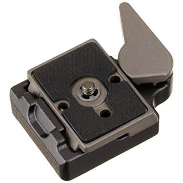Imagem de Manfrotto Adaptador de conexão rápida 323 RC2 com placa de liberação rápida 200PL-14 - substitui 3299-Preto