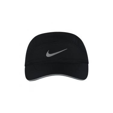 Boné Aba Curva Nike Aerobill TW Elite - Strapback - 5 Panel - Adulto - PRETO 0c724f0a66a
