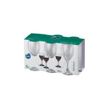 Conjunto 6 Taças 250ml Vinho Tinto Nadir Windsor - Nadir figueiredo