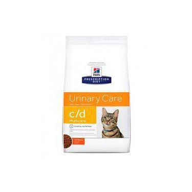 Ração Hills Feline Prescription Diet C/D Cuidado Urinário 1,8kg