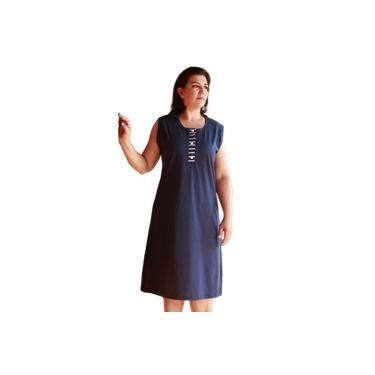 Camisola Senhora Plus Size Cavada Malha Botões 3723