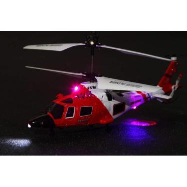 Imagem de POCO DIVO Guarda Costeira Helicóptero de Resgate RC, Voo Infravermelho