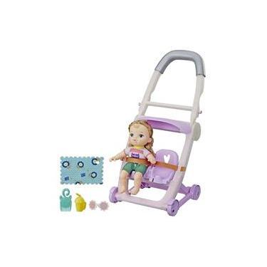 Imagem de Boneca Baby Alive Littles Com Carrinho de Bebê Hasbro E6703