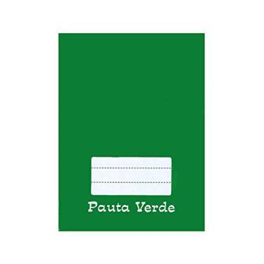 Caderno Pedagógico C.D. Brochura Pauta Verde 48fls - Tamoio