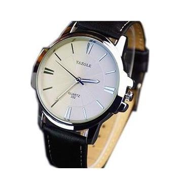07370714610 Relógio Masculino Pulso Yazole Sports Quartz Analóg - Branco