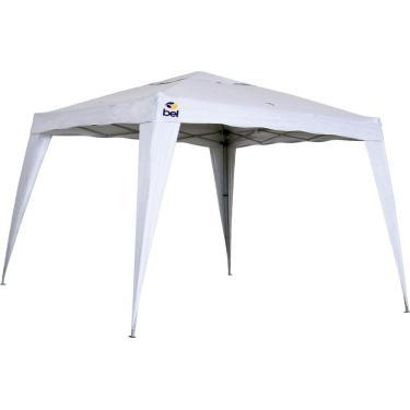 Tenda Gazebo Bel Fix 3 X 3 m Dobrável Poliester Branco