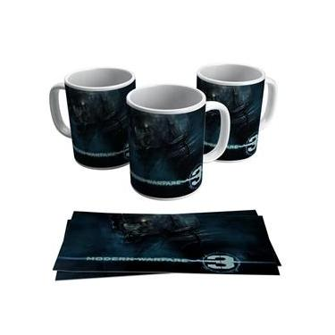 Caneca Jogo Call Of Duty Modern Warfare 3 Game Gamer