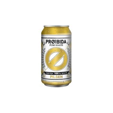 Cerveja Proibida Puro Malte Pilsen - 350ml