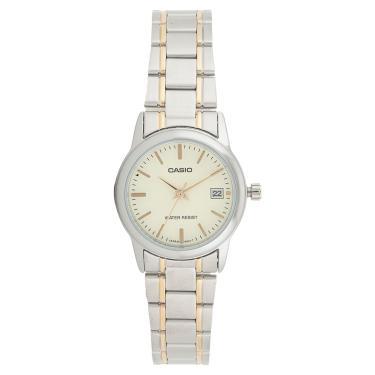 17c64e75329 Relógio Casio Feminino Prata LTPV002SG9AUDF
