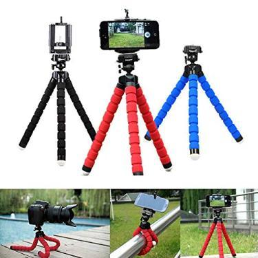 Aisence Detalhes sobre polvo universal suporte de montagem de tripé para câmera do telefone celular samsung iphone