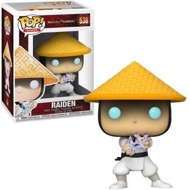 Funko Pop Mortal Kombat Xi Raiden 538