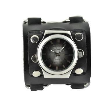 0a4340557e0 Relógio Unissex Nemesis Modelo WB331K - Pulseira em Couro   A prova d  água