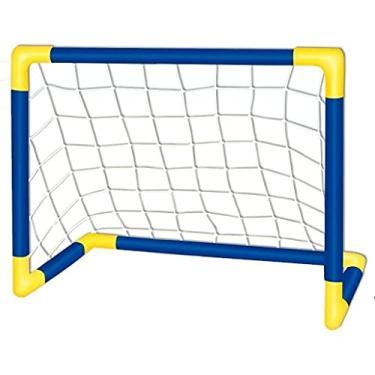 Imagem de Golzinho Trave Futebol Infantil Com Rede Gol Diversão