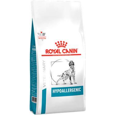 Ração Royal Canin Canine Veterinary Diet Hypoallergenic para Cães Adultos com Alergias - 10 Kg