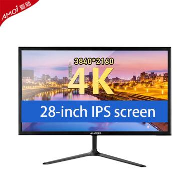 Imagem de Ips 4k monitor gamer 28 polegada monitor lcd monitor do pc 144hz para monitores de jogos de