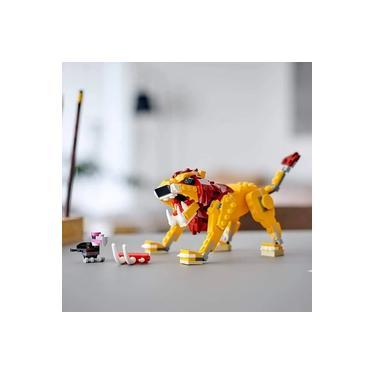 Imagem de Lego Creator Leão Selvagem 3 em 1 (31112)