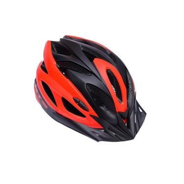 Capacete De Ciclismo Gts Vista Light Preto E Vermelho Tam. G