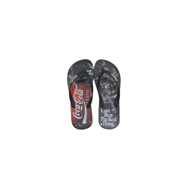 Chinelo Masc Coca Cola Shoes Beat Preto/Preto-cc2647
