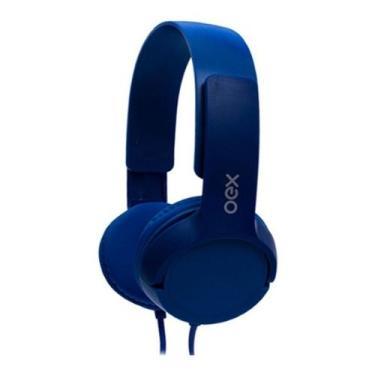 Imagem de Fone De Ouvido Headphone Teen Hp303 Azul Com Microfone - Oex