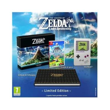The Legend of Zelda Link`s Awakening Limited Edition Europa - Switch