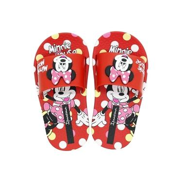 Chinelo Infantil Disney Minnie Slide Feminino
