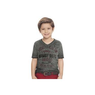 Camiseta Menino Estonada Chumbo Quimby Boys