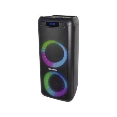 Caixa de Som Gradiente Extreme Colors Bass Boom - Bluetooth Portátil A