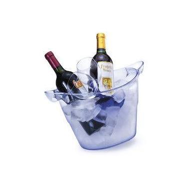 Imagem de Balde De Gelo transparente com alça 7 litros