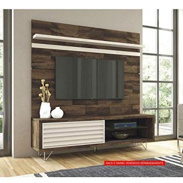 Painel para TV até 70 Polegadas Venezza Deck/Off White - HB Móveis