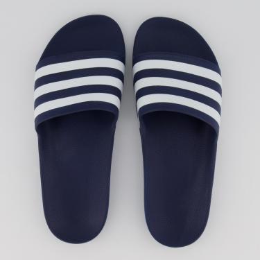 Chinelo Adidas Adilette Aqua Marinho e Branco - 40-41