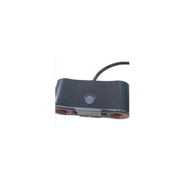 Cigarro 12V dc carro adaptador para acendedor de 2 Way Duplo Tomada Carregador Splitter