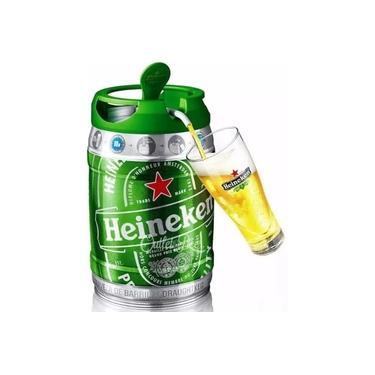 Imagem de Barril Chopp Heinekenn 5 Litros Cerveja Litros Original Premium