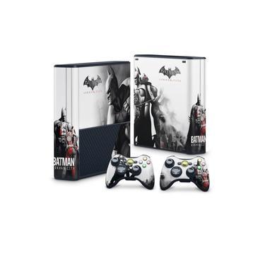 Skin Adesivo para Xbox 360 Super Slim - Batman Arkham City