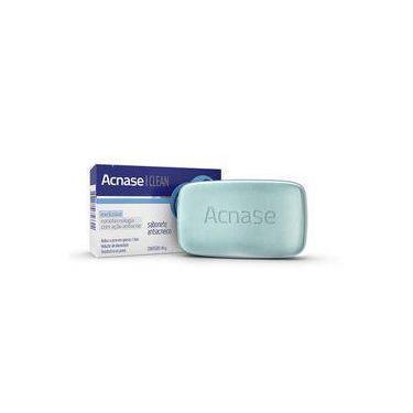 Acnase Clean Sabonete Antiacne Com 80 Gramas