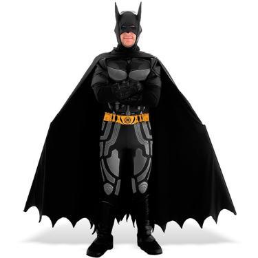 Fantasia Batman Adulto Edição Limitada Sulamericana