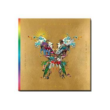 Coldplay Live In São Paulo & Buenos Aires Pacote Borboleta 2 Cds + 2dvds