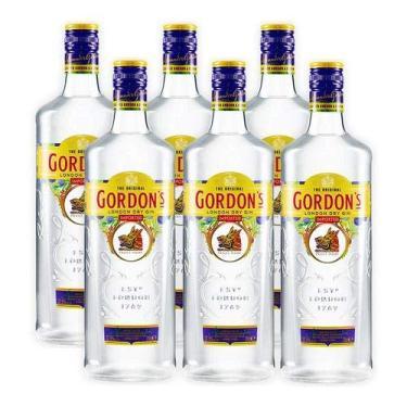 Gin Gordons 750ml 06 Unidades
